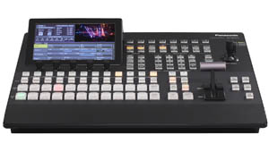 Panasonic AV_HS410 Multi Format Broadcast Switcher for hire for sale