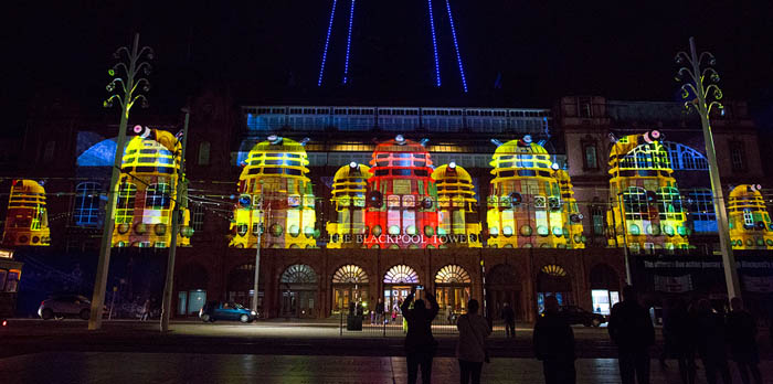 Large Scale Projection onto buildings