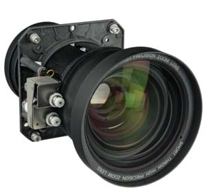 Sanyo LNS-W02Z Zoom Lens for XF47, XF46, EX16K, EX12K, LX1500, LC-XT5 and other compatible units.